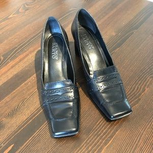 Franco Sarto Women Leather Heels Size 7M